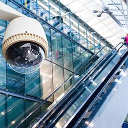 cctv camera at a mall