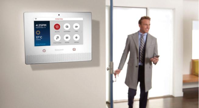 commercial alarm keypad