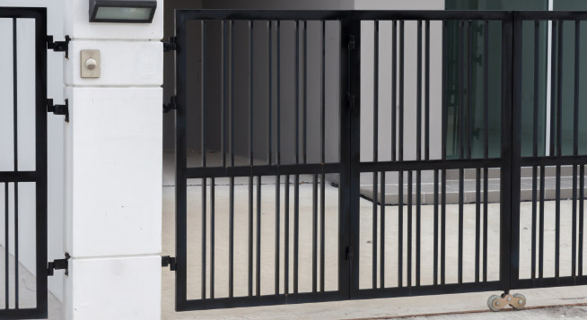 electric security gates